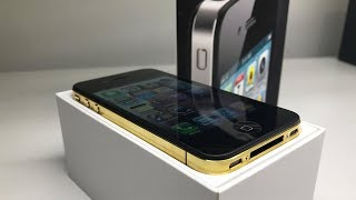 24KT Gold Plated iPhone 4 Restoration