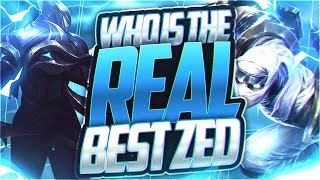 LL STYLISH | WHO'S THE REAL BEST ZED NA?! [ft. LACERATION]