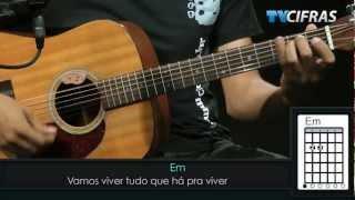Lulu Santos - Tempos Modernos - Aula de violão - TV Cifras