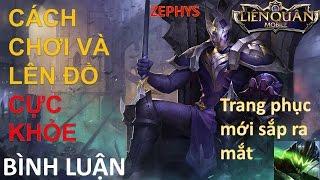 Hướng dẫn chơi và lên đồ : Zephys - Lãnh chúa bất tử - Liên quân mobile mùa 2