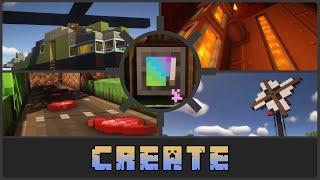 Minecraft: Work Hard, Create Results - Create Forge 1.16.5 Mod Showcase