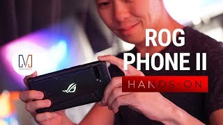ROG Phone II Hands-on: Console replacement?
