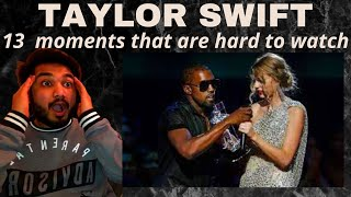 13 TAYLOR SWIFT moments that are HARD to watch |UK REACTION| WOW I HAD NO CLUE SHE FELT THAT WAY!