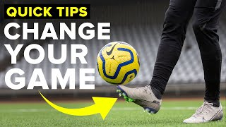 3 HABITS THAT CHANGED FOOTBALL FOR ME