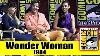 WONDER WOMAN 1984   Comic Con 2018 Full Panel (Gal Gadot, Chris Pine, Patty Jenkins)