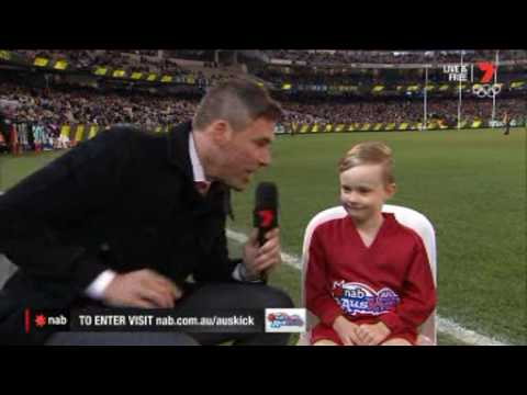 2016 NAB AFL Auskicker of the Year – Rd 20 Nominee