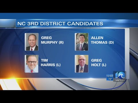 Special election today for NC's 3rd Congressional District
