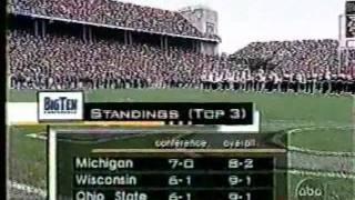 Ohio State vs. Michigan opening 1998