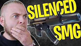 NEW SILENCED SMG GAMEPLAY!! - FORTNITE BATTLE ROYALE!! #7