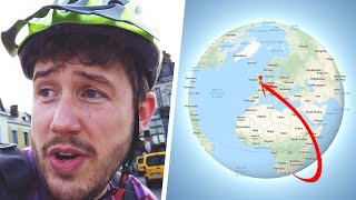 I Raced a Package Around the World & You Won't Guess Who Won!! (Mail Race Challenge)