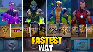 Fastest Way I got All Bosses, Mythic Weapons & Vault! Boss Midas, Doctor Doom, Wolverine, Iron Man