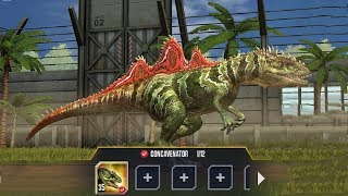 Jurassic Wolrd Mobile Thú mới Tiến Hoá siêu Cấp