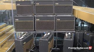 Brian May's 9 Vox AC30s!!