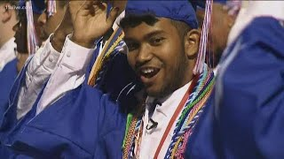 He lost his parents and overcame homelessness. Now he's graduating from high school