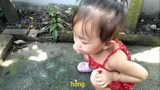 Bé Dâu và trò chơi đi tìm hoa bồ công anh - baby funny🍓 Kids Strawberry Show 🍓