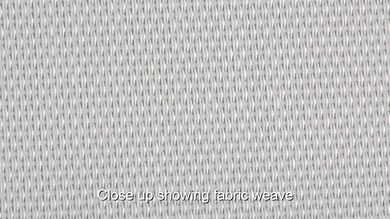 Video Of Phifertex Plus White Mesh 2358 Mesh Fabric