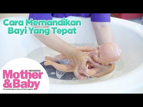 Cara Memandikan Bayi yang Tepat