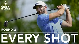Dustin Johnson: Every shot in 2nd-round 67 at 2019 PGA Championship