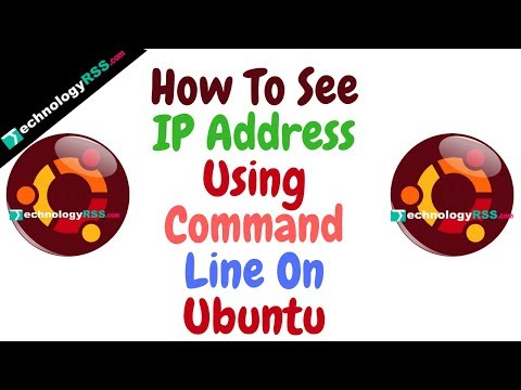 How to See IP Address Using Command Line in Ubuntu 14-04