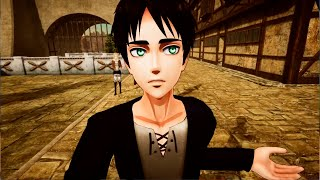CENAS PERDIDAS DE ATTACK ON TITAN (AOT VR)