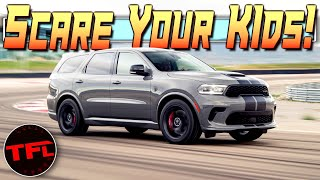 The 2021 Dodge Durango SRT Hellcat Will Get The Kids To School Faster Than Your Neighbor's Porsche!