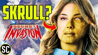 Is SHARON CARTER Actually a SKRULL? | Secret Invasion & Falcon Winter Soldier  | Marvel Theory
