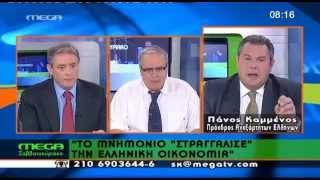 Ο Πάνος Καμμένος στο MEGA 2-6-2012