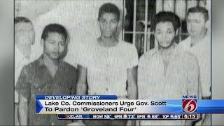 Lake County officials urge Gov. Scott to pardon 'Groveland Four'