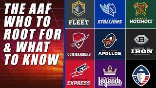 Alliance of American Football: What to Know, Who to Root For
