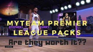 NBA2k19 Premiere League Packs Worth It?!