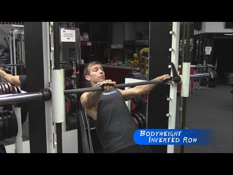 Bodyweight Inverted Row | Lats / Serratus Training