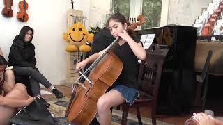 Emily Plays Elegie by Gabriel Faure