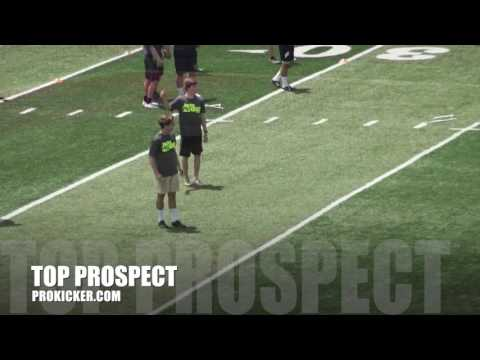 Carson Mohr, Kickoffs, Ray Guy Prokicker.com Top Prospect Camp 2016