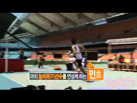 [120725] Minho's FYIFB High Jump Behind The Scenes ㅍ_ㅍ