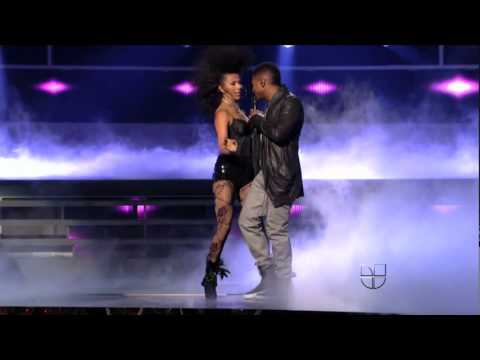 Romeo santos Ft. Usher - Promise (LatinGrammyAwards2011) live