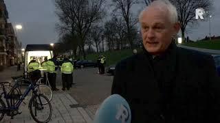 Politiecontrole in Schiedam