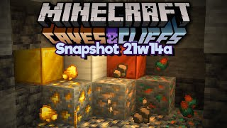 We can FORTUNE IRON Now?! ▫ Minecraft 1.17 Snapshot 21w14a ▫ Caves & Cliffs Update