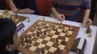 GM Boris Grachev - GM Rameshbabu Praggnanandhaa, London system, Blitz chess
