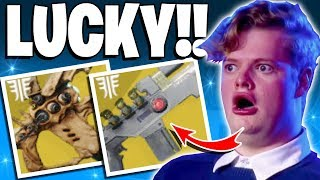 Destiny 2 - Insane Luckiest Exotic Loot Drops!! WTF - Top 5 Lucky Loot - Ep-118