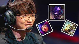 Everything FAKER did at All-Star 2018 (Godly Plays & BMs)