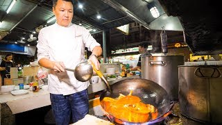 The IRON CHEF CHAMPION of Thailand - Insane THAI FOOD Cooking Skills in Bangkok!