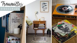 Haul 100% seconde main (meubles, livres & vinyles) | Friendly Beauty |  ad