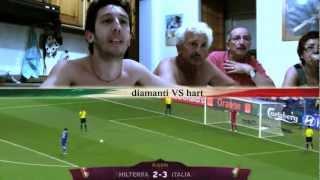 Italia - Inghilterra (4-2 ai rigori) EUROPEI 2012  [www.axelfilm.com]