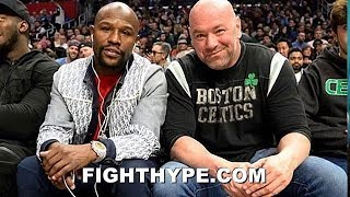 """(WOW!) FLOYD MAYWEATHER & DANA WHITE WORKING ON ANOTHER """"SPECTACULAR EVENT"""" FOR 2020; WHAT IS IT?"""