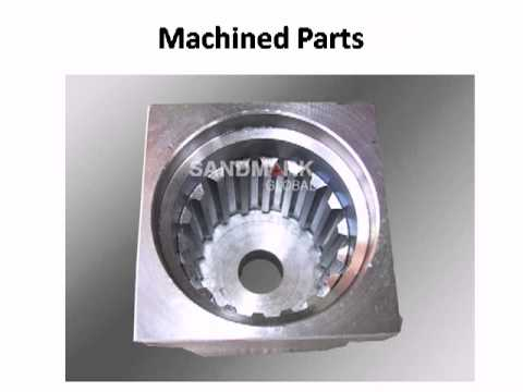Machined Parts - Machined | Parts | Mechanical | manufacturing Services