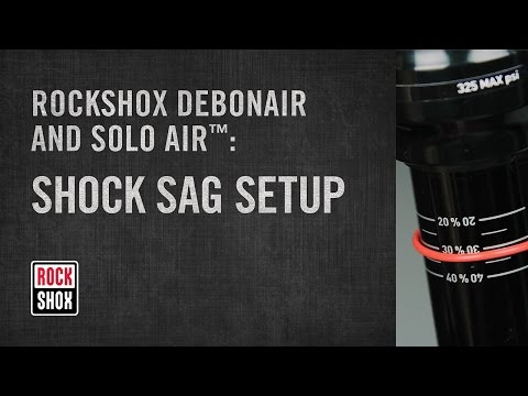 RockShox Debon Air and Solo Air Rear Shock Sag Setup