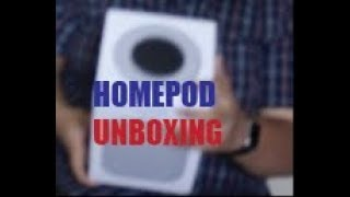 Apple HomePod unboxing and hands on
