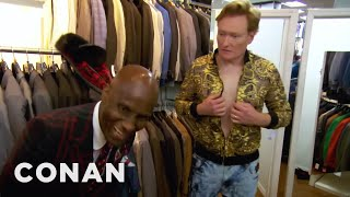Conan Gets Styled By Dapper Dan  - CONAN on TBS