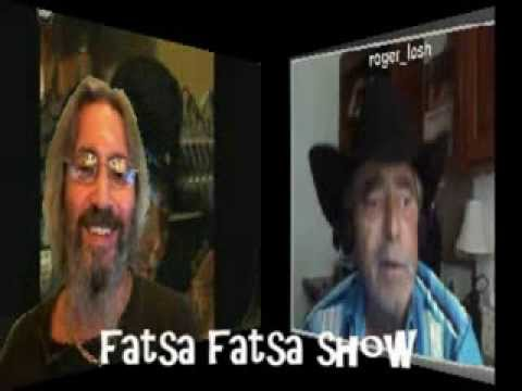 Kim Nicolaou talks to Roger Losh on (pr1) Fatsa Fatsa Tv Show