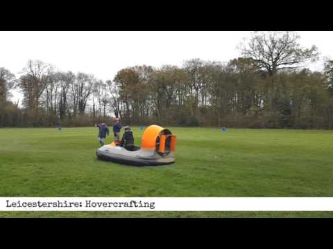Leicestershire: Hovercrafting Experience (60 second product review)